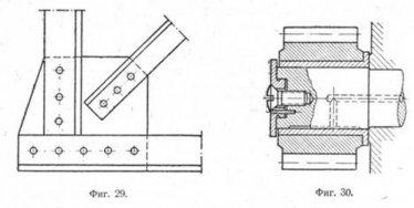приминение штрих- пунктирной линии при изломе (обрыве)