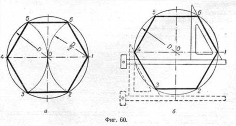 Правильный шестиугольник можно