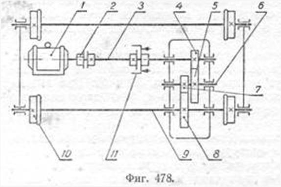 481б).  Однако в практике чаще пользуются схемами, выполненными в ортогональных проекциях.
